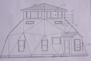 Floor Plan.Elevation.Routsis