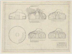Dymaxion House sketches